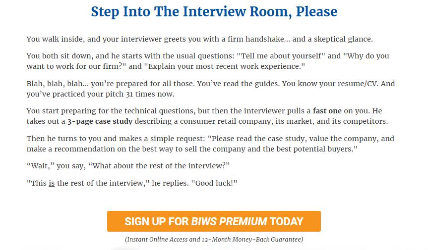 BIWS Premium Course Review Sign Up