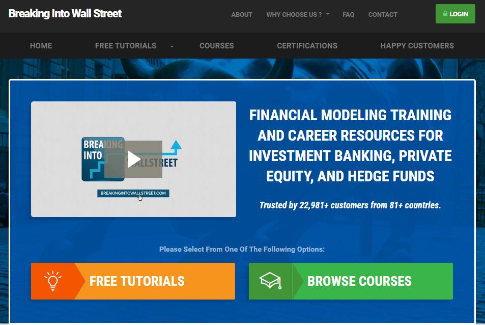 Breaking Into Wall Street BIWS