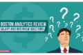 Boston Analytics Review: Salary and Interview Questions