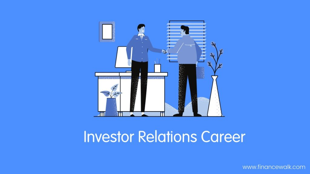Investor Relations Career