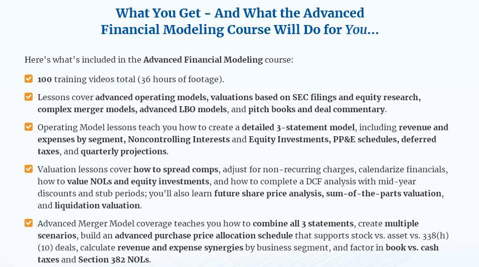 BIWS Advanced Course