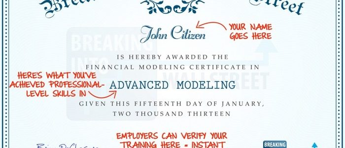 Financial Modeling Courses, Training: Choose the Best One